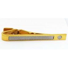 Pince à cravate Dunhill en plaqué or