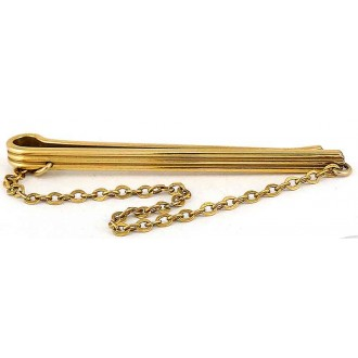 Pince à cravatevintage Murat en plaqué or
