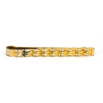 Pince à cravate Murat vintage en plaqué or